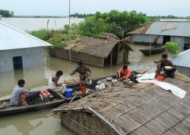 バングラデシュ、ネパール洪水緊急救援活動を開始します