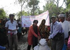 バングラデシュ、ネパール洪水緊急救援活動 報告