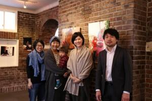 亀山さん&スイくんと国内活動グループメンバーで。
