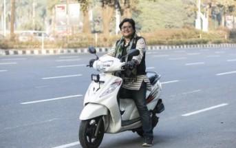 バングラデシュで数少ない女性ライダーの1人です。