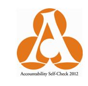 アカウンタビリティ・セルフチェック2012認証マーク