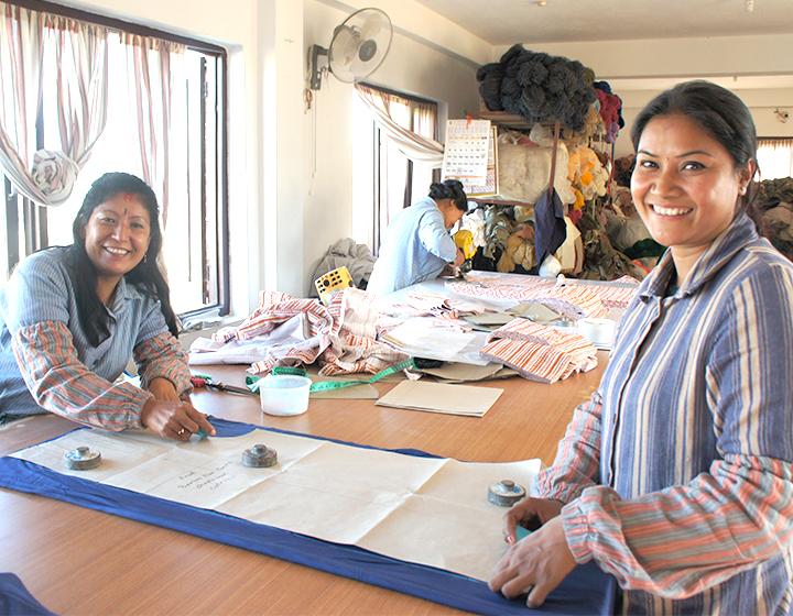 ネパールの生産団体「マハグティ」