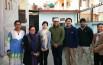 2017年12月中旬、ネパール事務所のスタッフと。中央は評議員のジギャンさん。