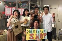 期間限定ショップ_を運営する日本外国語専門学校の皆さん