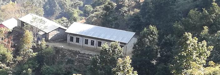 ネパールの土砂崩れが多い地域での防災支援