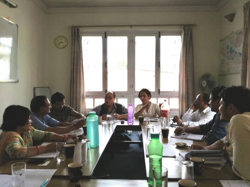ネパールで児童労働削減に取り組む国際NGOのネットワーク会議 6月22日シャプラニール事務所にて