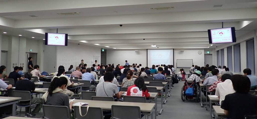 「第2回災害支援ネットワークおかやま(仮)会議」の様子