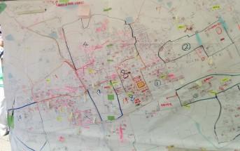 箭田サテライトで場所の確認のために使っていた地図