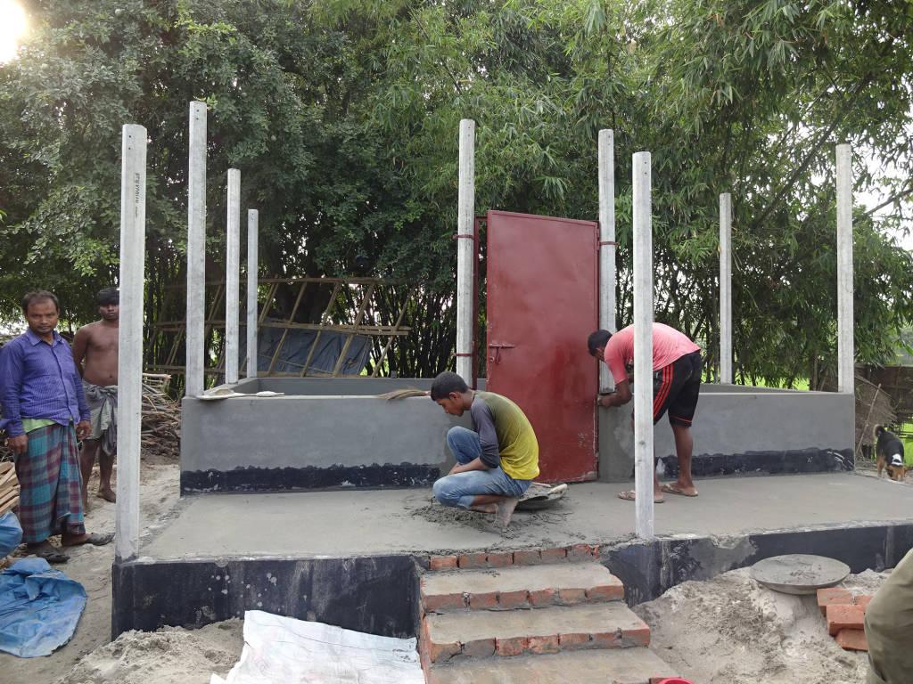 CLC建設に取り組む地域住民