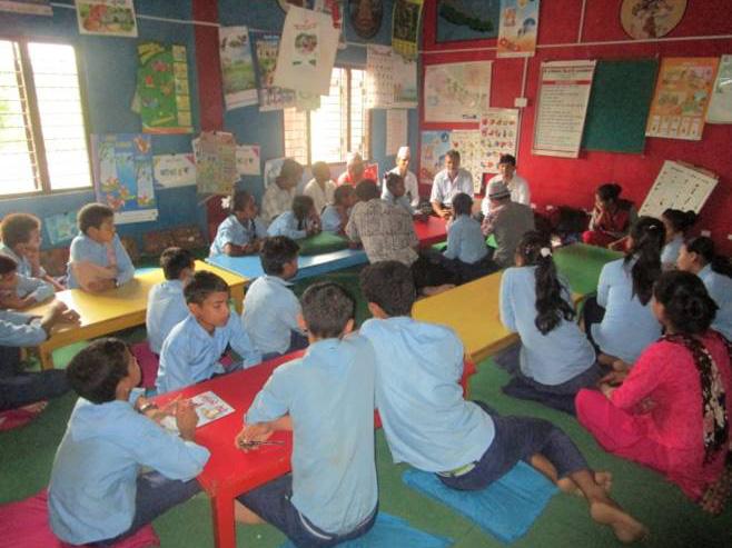 学校での防災教育実施