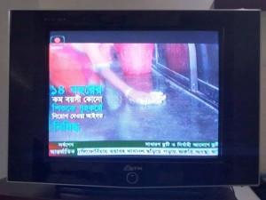 バングラデシュ国営放送局でも放映された啓発CM