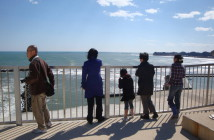 塩野崎から見るいわきの海